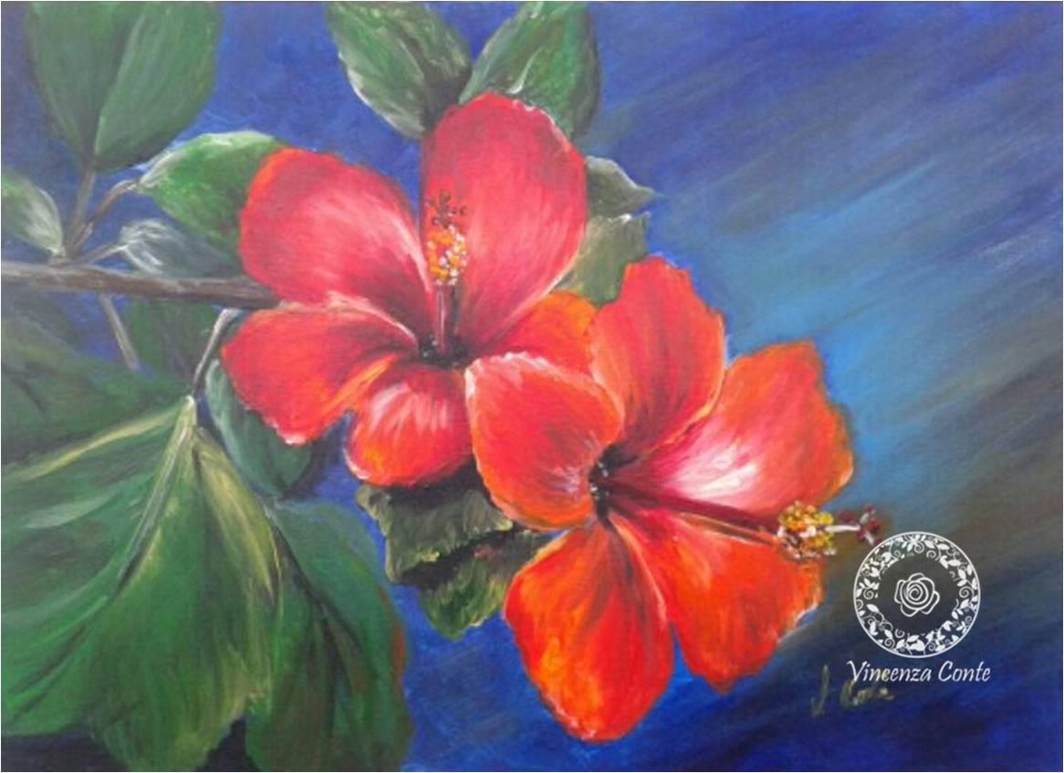 Stunning fiori dipinti ad olio pictures for Dipinti ad olio fiori