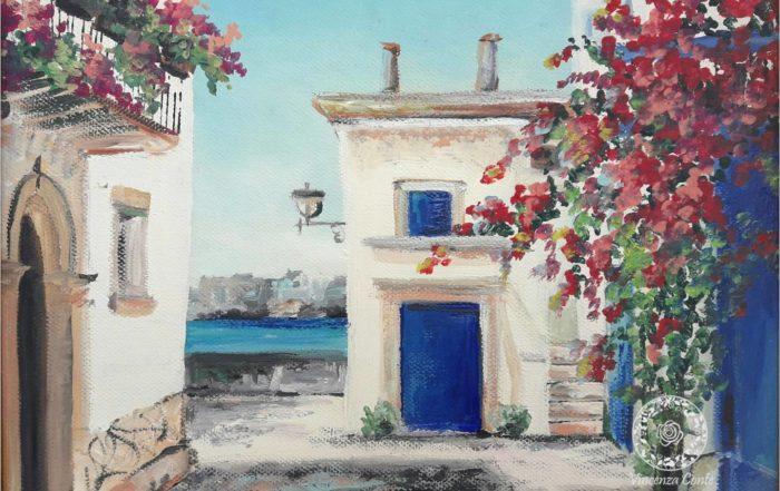 Paesaggi di mare dipinti