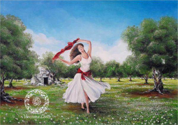 ballerina di pizzica